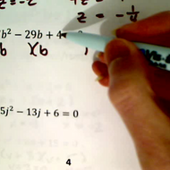 Practice Factoring Quadratic Equations