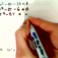 Practice Completing the Square
