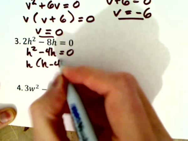Practice Two Term Quadratics