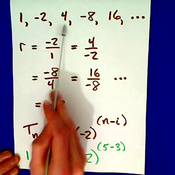 Determining if a Sequence or Series is Geometric