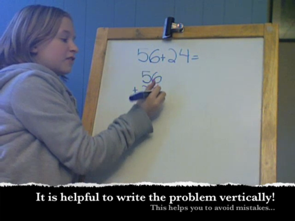 Adding Two Digit Numbers with Renaming