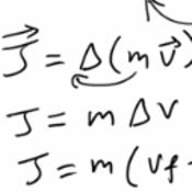 Calculating Impulse