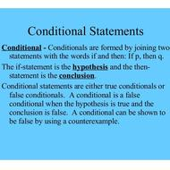 3-1 Conditional Statements (due Wednesday Oct 1)