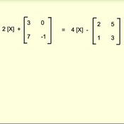 Solving basic Matrix Equations