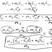 Elastic Collisions & Conservation of Momentum