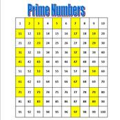 Math 6 Lesson 3-2: Prime Numbers & Prime Factorization