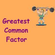 Math 6 Lesson 3.3: GCF