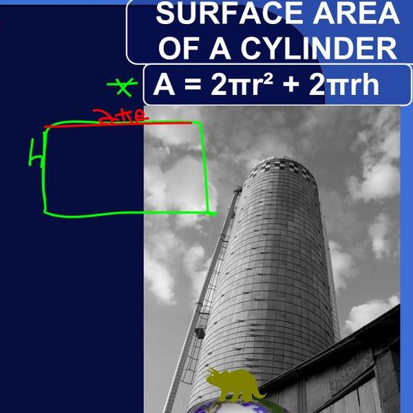 Calculating the Surface Area of a Cylinder