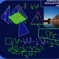 Finding a Formula for the Surface Area of a Pyramid