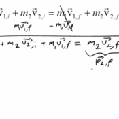 Inelastic Collisions & Conservation of Momentum