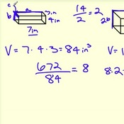 Scale Factor and Volume of Similar Figures
