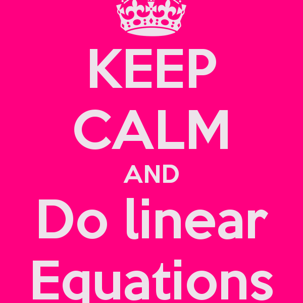 Linear Equations Games