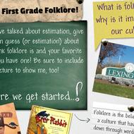 First Grade Folklore Glog