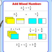 Math 6 Lesson 4-4: Adding Mixed Numbers