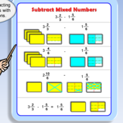 Math 6 Lesson 4-5: Subtracting Mixed Numbers