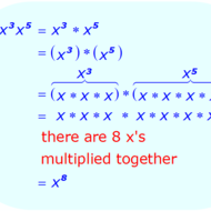 Pre-Algebra Lesson 4-7: Exponents & Multiplication