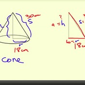 Height of a Cone