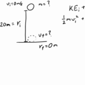Using the Conservation of Energy Equation