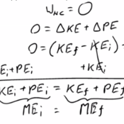Simplified Conservation of Energy Equation
