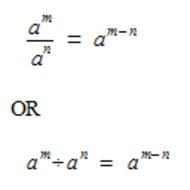 Pre-Algebra Lesson 4-8: Exponents & Division