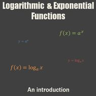 Logarithmic and Exponential Functions