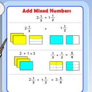 Pre-Algebra Lesson 5-3: Adding & Subtracting Fractions