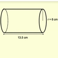 Calculating the Volume of a Cylinder.