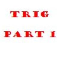 Unit 8 Concept 5 Trig Part 1