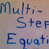 Solving Multi-Step Problems