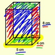 Calculating the Surface Area of a Prism.
