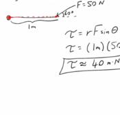Calculating Torque