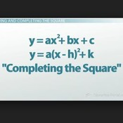 Lesson 3-13 Completing the Square (a = 1)