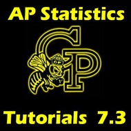 AP Statistics Ch 7.3 Sampling Distributions for Proportions