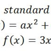 Capture Quadratic Equation In Standard Form Examples on