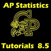AP Statistics Ch 8.5.1 - Estimating Differences of Means Independent Samples - SD Known