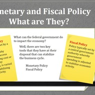 Monetary policy/Fiscal policy