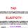 Tax/Subsidy