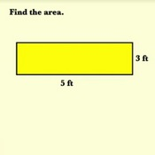 Calculating the Area of a Rectangle