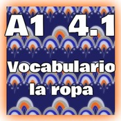 A1 4.1 - la ropa (vocabulario)