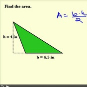 Calculating the Area of a Triangle