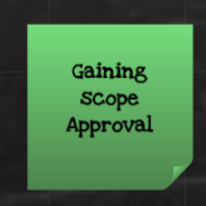 Gaining Scope Approval