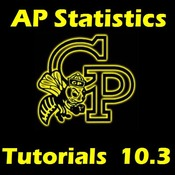 AP Statistics 10.3.2 - Testing the Coefficient of Correlation