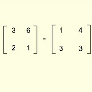Subtracting Matrices
