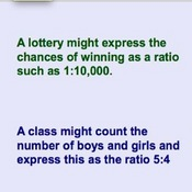 What are Ratios?