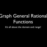 Graph General Rational Functions