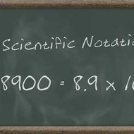 Scientific Notation (Physical Science Review)