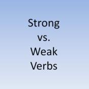 Strong vs. Weak Verbs