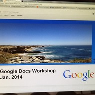 Google Docs Workshop In-service