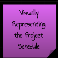 Visually Representing the Project Schedule