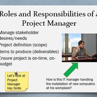 Project Manager Roles & Responsibilities